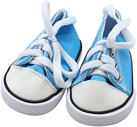 Wensltd Liquidación! Muñeca Zapatos para 18 Inch Muñecas - Lienzo ...