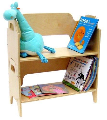 A+ ChildSupply Two-Deck Book Shelf