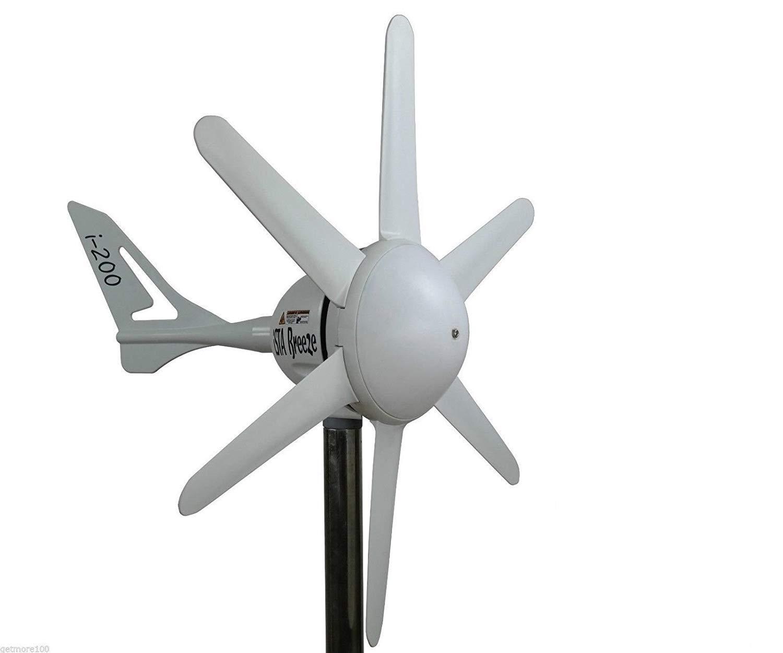 Generador de 200/12 V Wind I, Wind Turbine, barcos, ISTA de Breeze® , 12.00V ISTA de Breeze® Altinelenerji LTD.