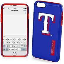 Texas Rangers Impact Dual Hybrid iPhone 6/6s Cover - TPU (2 Piece Case)