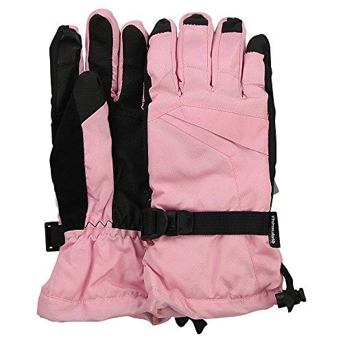 Pink Womens Snowboard Glove - Women's Grand Sierra Ski / Snowboard Glove (Pink, Large)