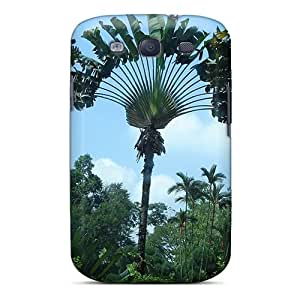 Hot Style TWc8053pvYE Protective Case Cover For Galaxys3(jungle Palm Trees)