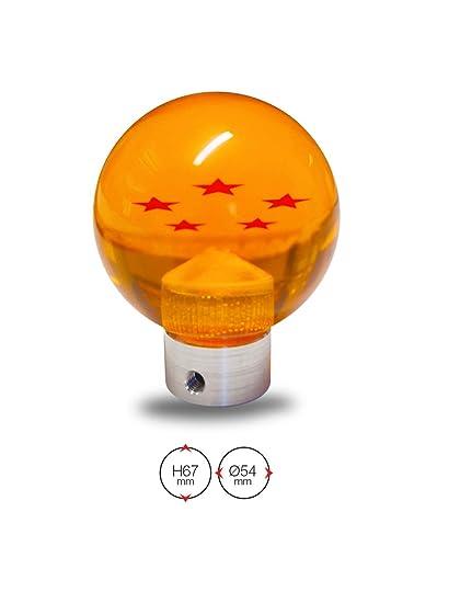 SIMONI RACING DBZ - Pomo Universal Dragonball, Naranja