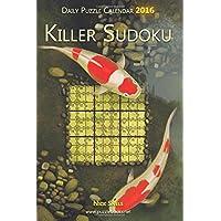 Daily Killer Sudoku Puzzle Calendar 2016