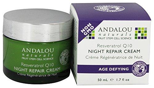 Night Repair Cream Age-defying Fruit Stem Cell with Resveratrol Q10 - 1.7 Oz.
