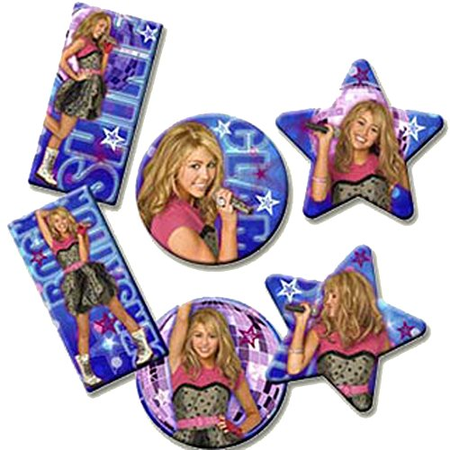 - Hannah Montana 'Rock the Stage' Magnets / Favors (6ct)