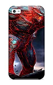 Premium Protection Flaming Golem Case Cover For Iphone 6 plus (5.5)- Retail Packaging