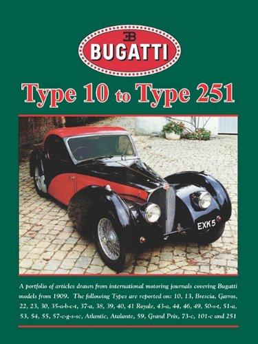 Bugatti Type 10 to Type 251 (Road Test Portfolio) pdf