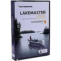 $119 » Humminbird LakeMaster Plus Wisconsin Edition Digital GPS Lake and Aerial Maps, Micro SD Card,…