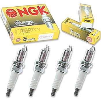 NGK G-Power 4pcs Spark Plugs Honda Civic 01-05 1.7L L4 GAS