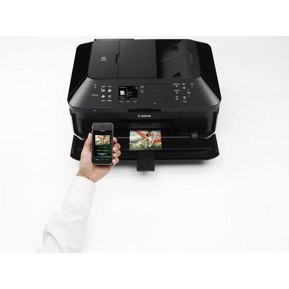 Canon PIXMA MX922 Wireless Inkjet Office All-In-One Printer + Canon Genuine PGI-250 BK,CLI-251,4 Inks + Printer Cable by Beach Camera (Image #6)