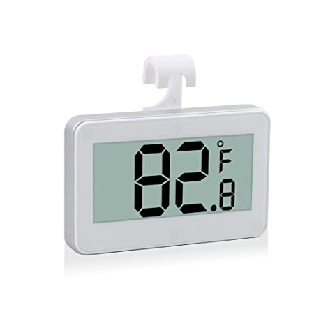 maison-market Digital nevera congelador Termómetro Max/Min ...