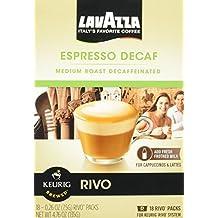 Lavazza Espresso Decaf for Keurig Rivo System by Lavazza