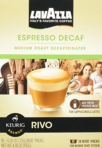 Lavazza Espresso Decaf for Keurig Rivo System, 18 count by Luigi Lavazza [Foods] by Lavazza