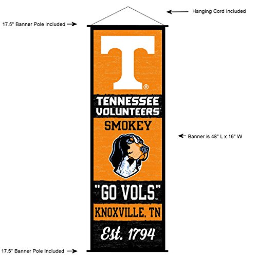 - Tennessee Volunteers Banner and Scroll Sign
