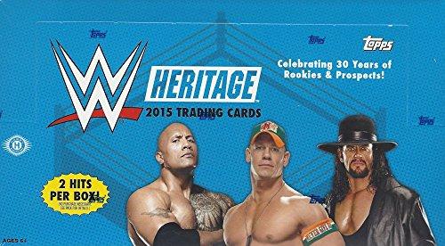 2015 Topps Wrestling Heritage HOBBY
