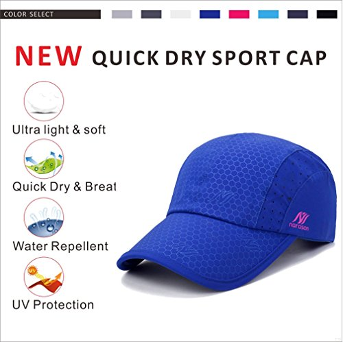 Hat Gray for Men and Cloth Woman Portable Baseball Waterproof Dry Running Quick Hats Sun Cap Cooling Activities VV87 Brim Breathable Outdoor and Light Performance Sport Azul Soft Workouts Cap Lightweight naT1YcAWpU