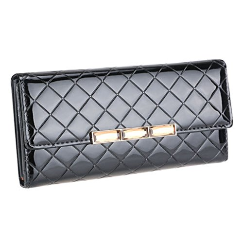 My.Monkey Womens Korean Style Fashion Leather Purse Fold Wallet(C1)