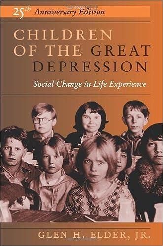 Book Children of the Great Depression, 25th Anniversary Edition by Glen H. Elder (1998-09-11)