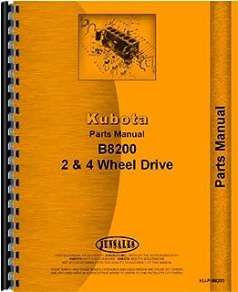 amazon com kubota b8200 tractor service manual 0739718106598 rh amazon com Kubota B8200 4x4 Kubota B5100 Tractor