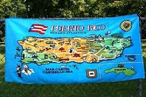 AES Puerto Rico Island Map #2 30