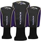 Baltimore Ravens Official NFL Golf Headcover Set