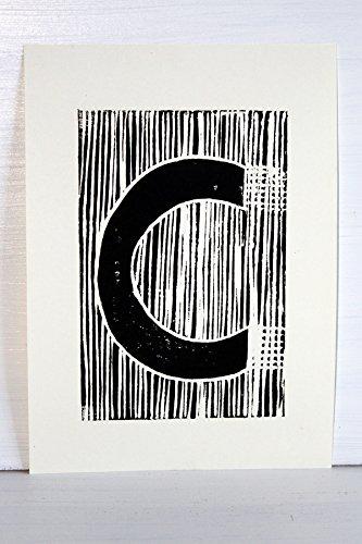 EKone Original Lino Print - C