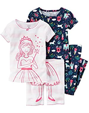 Girls' 4-Piece Princess Set