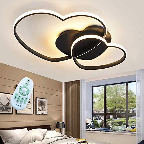 LED Plafondlamp Modern Love Ontwerp Hart Warm Romantisch Verduisteren Keuken Met Afstandsbediening Kroonluchters Acryl…