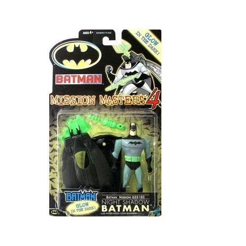 Batman: The New Batman Adventures Mission Masters 4 Night Shadow Batman Action Figure