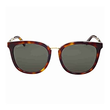 b7eda370f9a Image Unavailable. Image not available for. Color  Gucci Sunglasses Gg 0140  Sa- 001 Black Grey