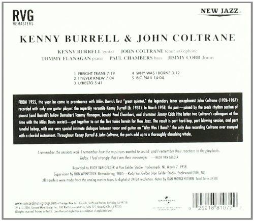 Kenny Burrell & John Coltrane [Reissue]