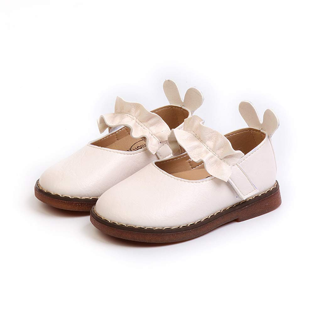 iFANS Baby Girl Loafers Princess Dress Shoes Sweet Wind Kids Flats