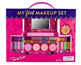 GIRLS MAKEUP KIT- SAFETY TESTED- NON TOXIC- COMPACT FOLD OUT MAKEUP PALLET WITH MIRROR AND SECURE CLOSE