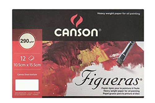 Canson Figueras Oil & Acrylic Paper Postcard 4