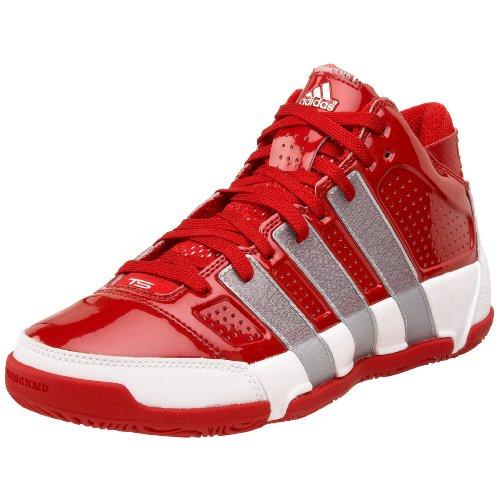 adidas Men's TS Commander LT Team Basketball Shoe,RedWhite