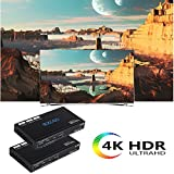 EZCOO 4K HDMI 2.0 HDBaseT Extender 230ft ARC SPDIF