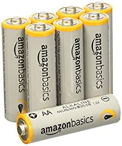 Amazon.com: AmazonBasics AA Performance Alkaline Batteries