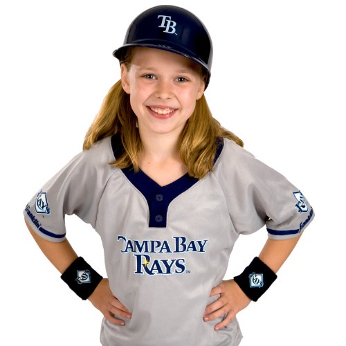 Franklin Sports MLB Tampa Bay Devil Rays Youth Team Uniform Set (Bay Devil Rays Jersey Tampa)