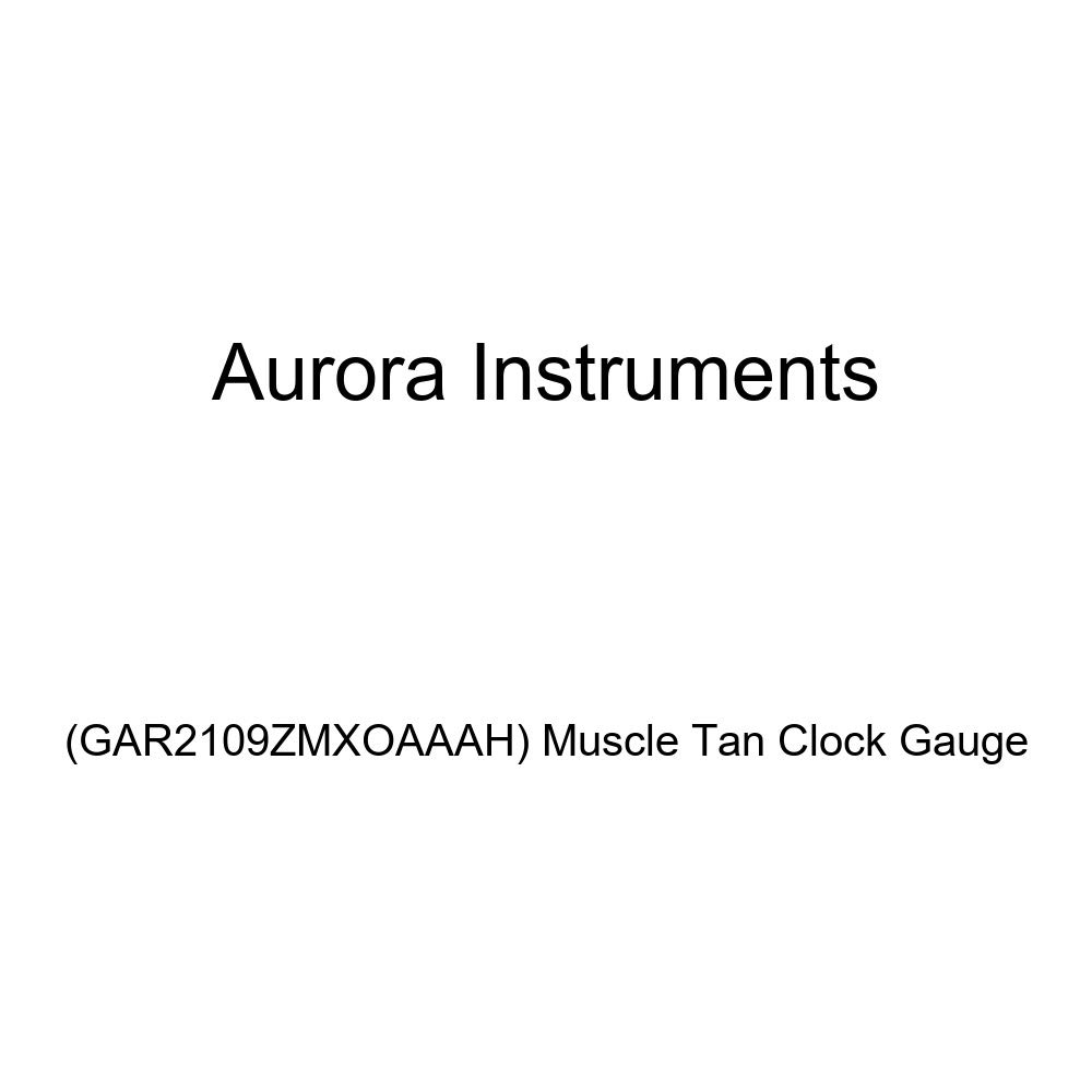 Aurora Instruments GAR2109ZMXOAAAH Muscle Tan Clock Gauge