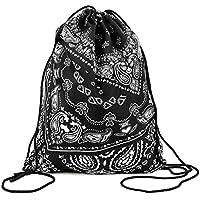 Generic Fashion coloré Happy Imprimé en 3D sac à dos à cordon de serrage Sac (38,1x 27,9cm)
