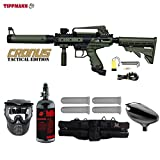 MAddog Tippmann Cronus Tactical Starter HPA Paintball Gun Package – Black/Olive Review