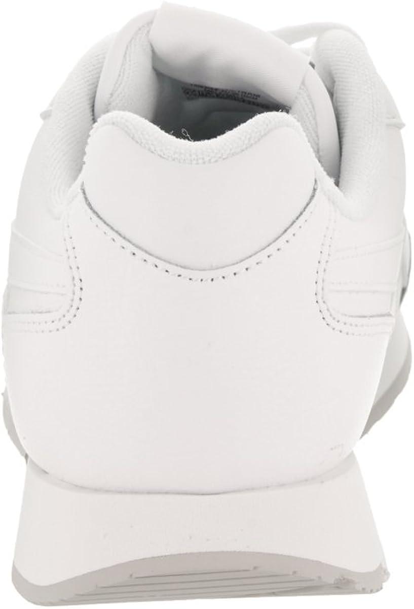 Reebok Mens Reebok Royal Glide White//Steel//Reebok Royal Sneaker 10 D M