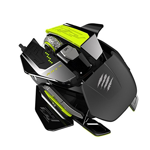 - Mad Catz R.A.T. PRO X Ultimate Gaming Mouse with PixArt ADNS-9800 Laser Sensor Module for PC