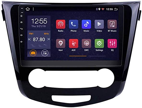 GPS para Coches, Pantalla Táctil De 10 Pulgadas, para Nissan Qashqai X-Trail 2 DIN Car Radio Mp5 Stereo Player/Andnoid 8.1/ WiFi/Mirror Link/Bluetooth/SD/FM, Navegador GPS Coche: Amazon.es: Hogar