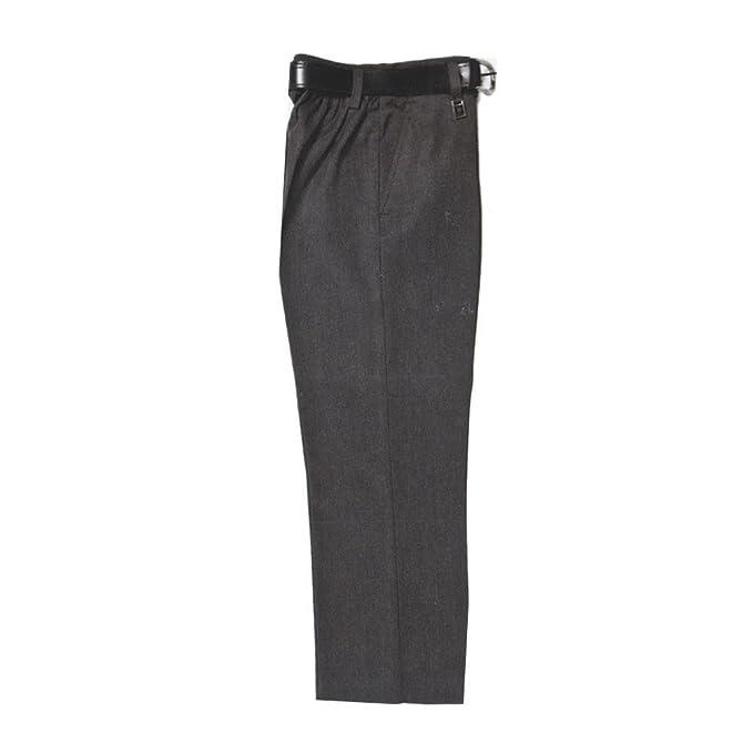 67c0b0f8a78e4 Zeco Schoolwear Pantalones de Uniforme Escolar estándar para niños con  Media Elasticidad y Ajuste Robusto  Amazon.es  Ropa y accesorios