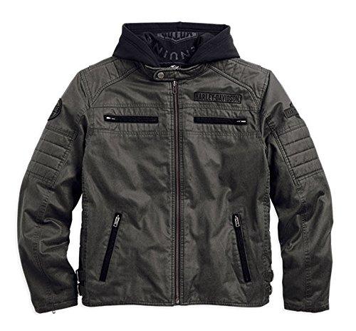 (Harley-Davidson Men's Passing Link 3-in-1 Jacket 98549-14VM Gray Size (Large))