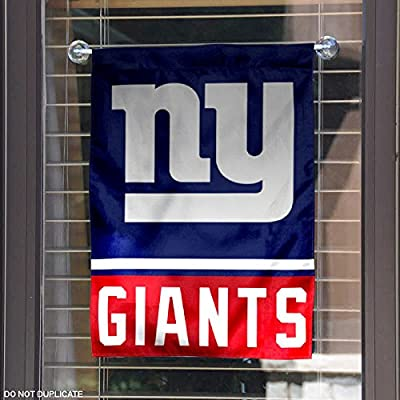 New York Giants Double Sided Garden Flag