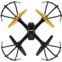 Drone with HD Camera, Akaddy JJRC D61 2.4G 4CH WiFi RC Quadcopter Remote Control Drone LED w/Camera