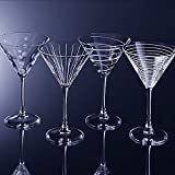 Mikasa Cheers Martini Glass, 10-Ounce, Set of 4, 4